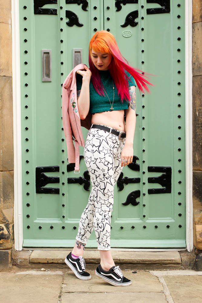 Alternative Style Blogger Foxxtailz Styles Zara Star Jeans