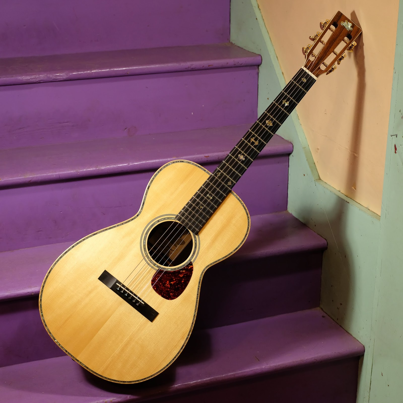 2003 Froggy Bottom P12 Deluxe Parlor Guitar