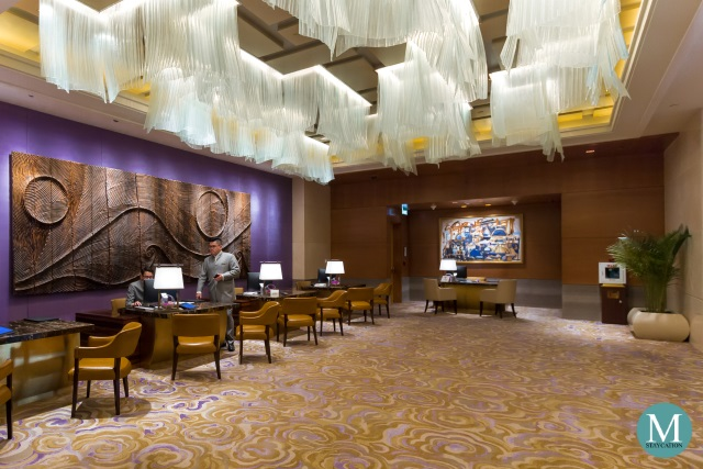 front office of The St. Regis Macao, Cotai Central