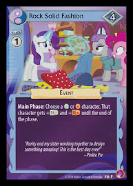 My Little Pony Rock Solid Fashion Rock N Rave CCG Card
