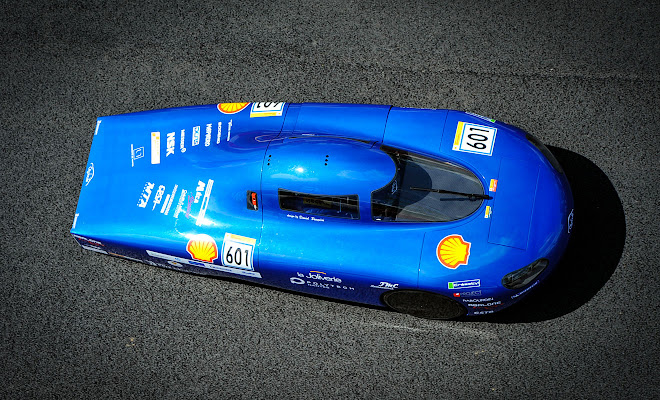 Shell Eco Marathon car