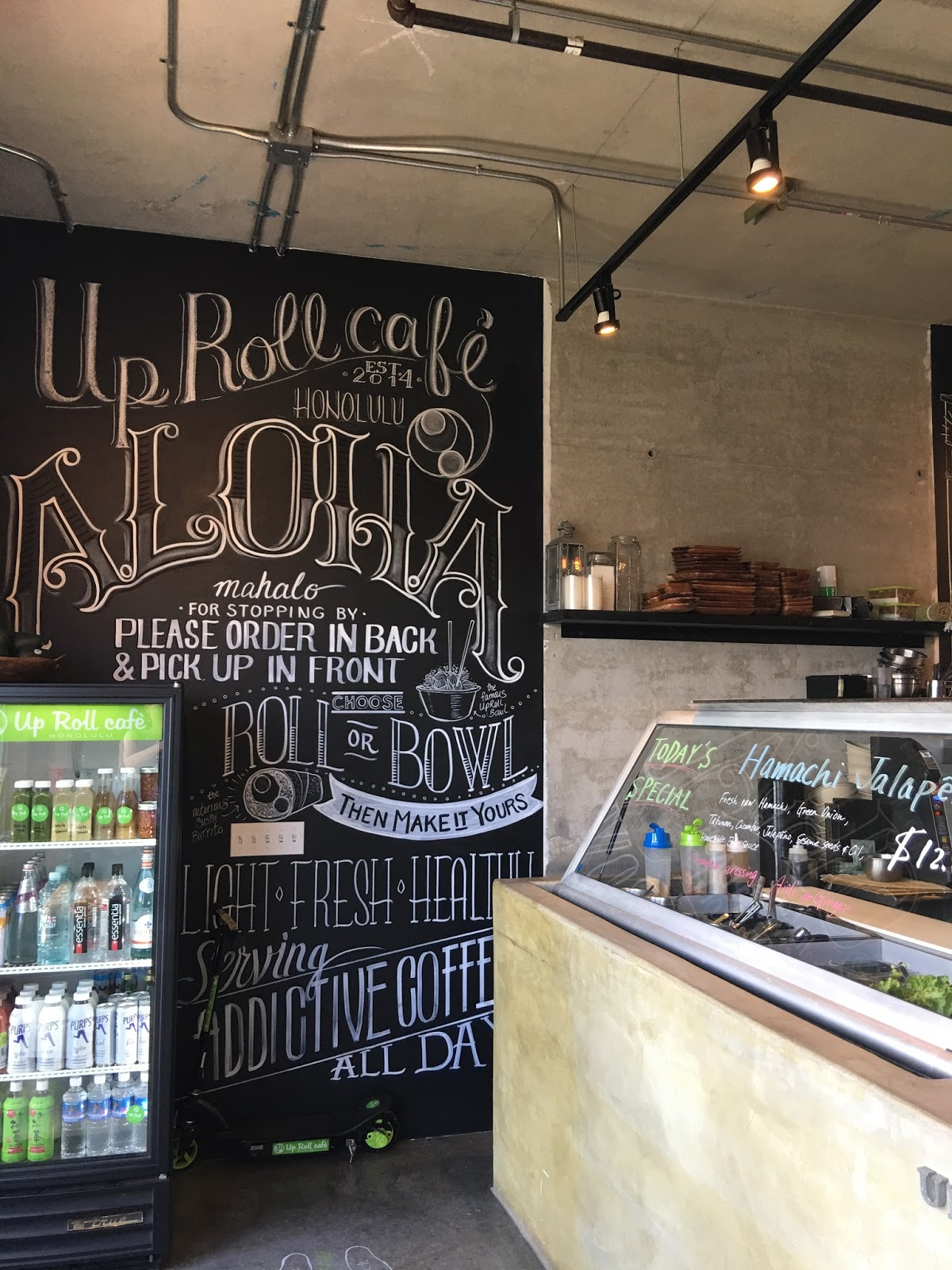 hawaii mom blog: up roll cafe