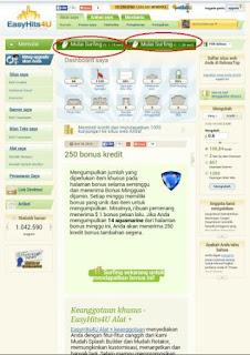 easy1 Cara Mudah Daftar dan Meningkatkan Traffic Blog/Web di Easyhits4u