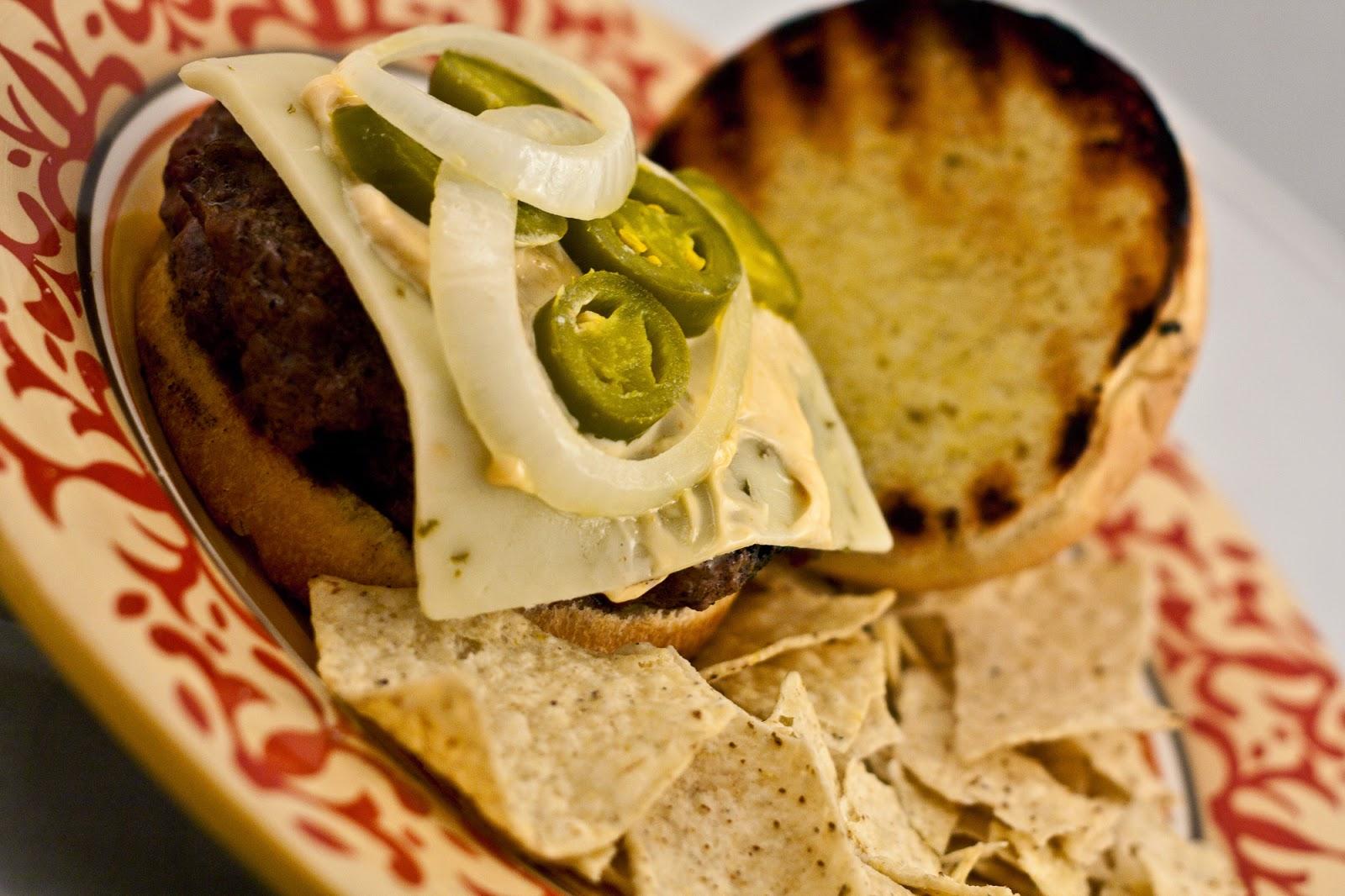 Spicy Bison Burger