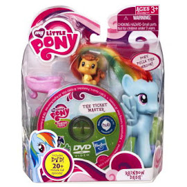 My Little Pony Single with DVD Rainbow Dash Brushable Pony