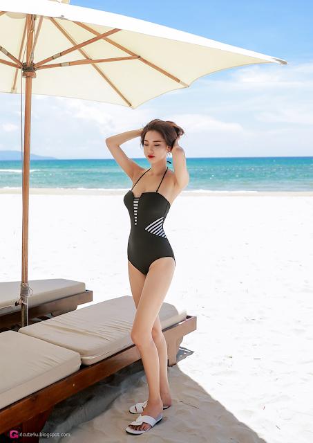 Park Da Hyun - Beachwear Set 1 - very cute asian girl - girlcute4u.blogspot.com (5)
