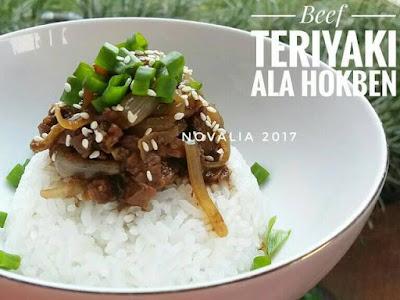 Resep Beef Teriyaki Hokben Sederhana