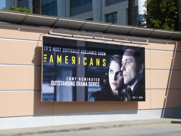 Americans season 4 Emmy nomination billboard