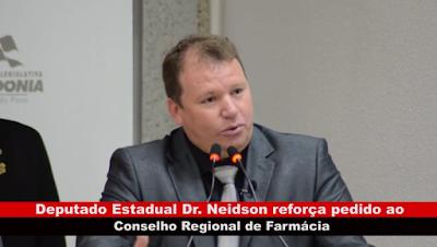 Vídeo: Dr. Neidson reforça pedido ao Conselho Regional de Farmácia