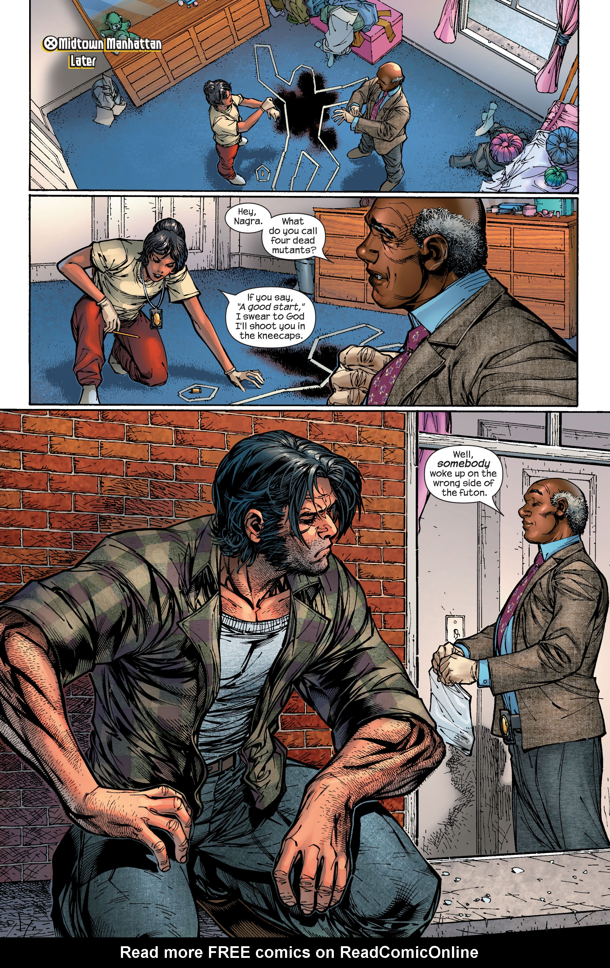 Read online Ultimate X-Men comic -  Issue #47 - 8