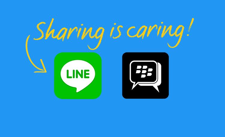 Membuat Tombol Share Untuk Line Dan BBM Di Blogger