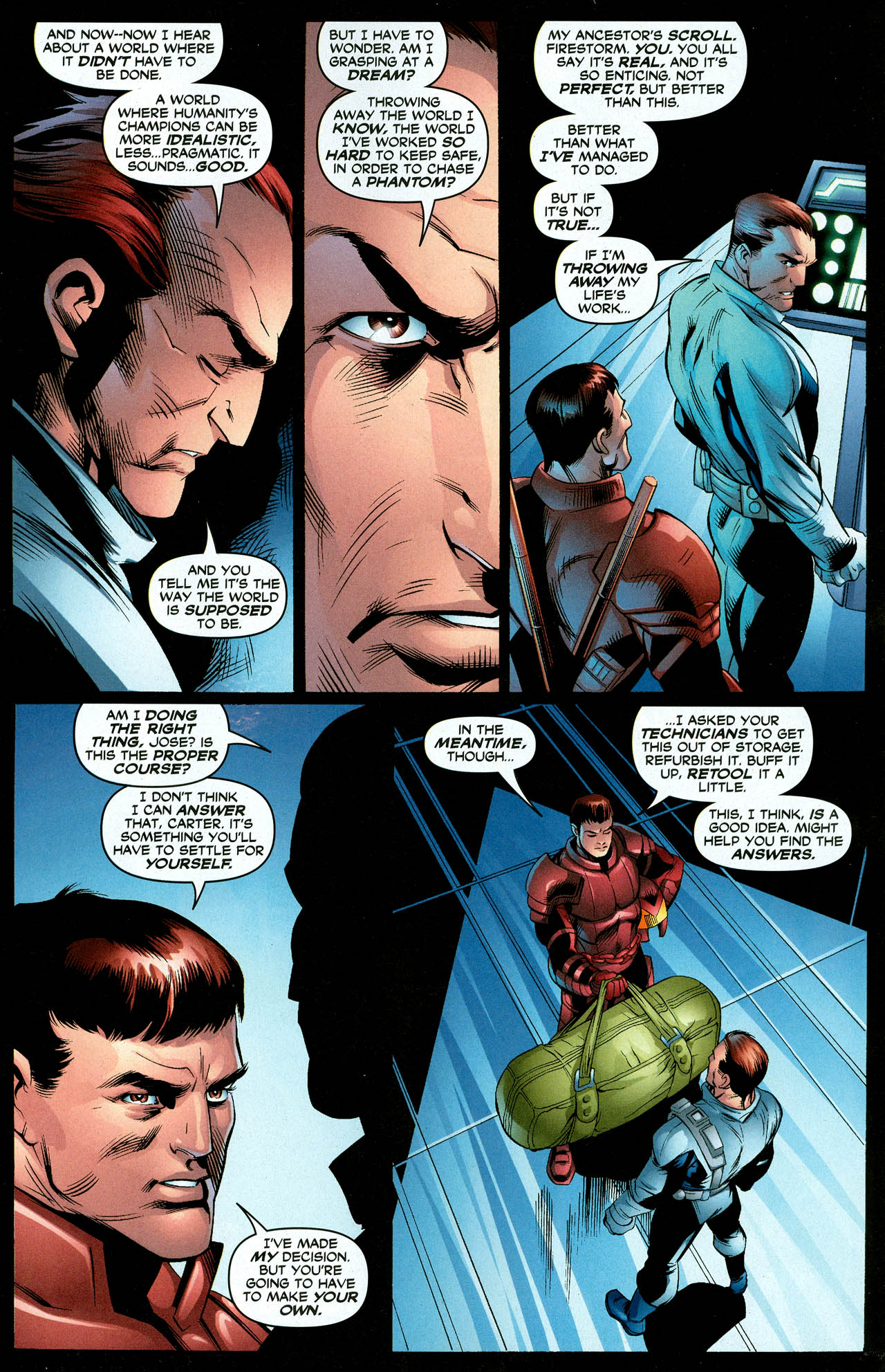 Read online Trinity (2008) comic -  Issue #27 - 16