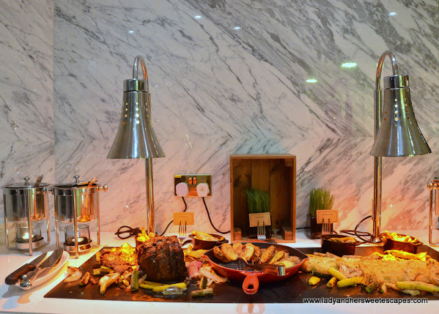 prime rib at Al Dawaar Revolving Restaurant
