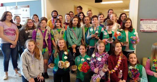 BAHS hosts Girl Scout Badge College