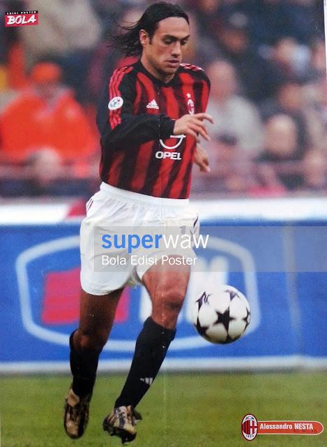 Poster Alessandro Nesta (AC Milan)