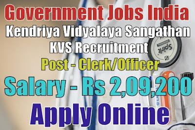 Kendriya Vidyalaya Sangathan KVS Recruitment 2018