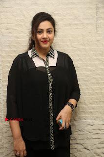 Tamil Actress Meena Latest Stills in Black Dress at TSR TV9 Awards Press Meet  0023.JPG
