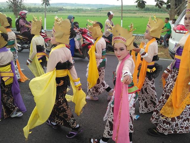 Karnaval 2016 SDN mulyoagung 1 kecamatan singgahan