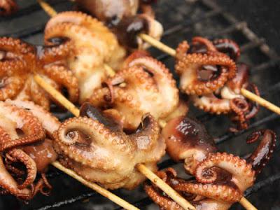 Thường xuyên ăn bạch tuộc sẽ giúp tăng cơ bắp