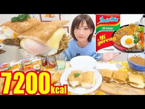 Food&Babe:  Indomie Mi Goreng Hot Sandwich [1vid]