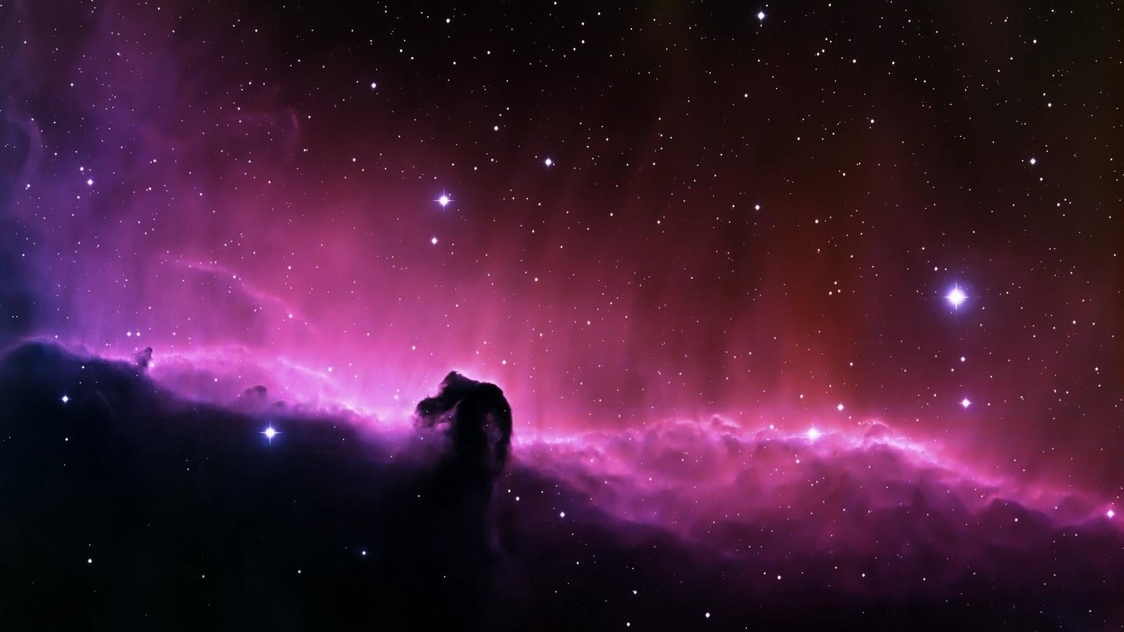 Purple Horsehead Nebula