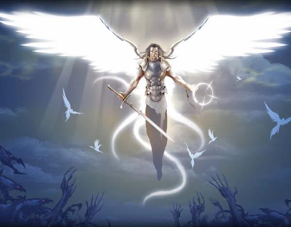 Templo Ceremonia Wicca Leuksophia : LOS ANGELES EN EL PAGANISMO