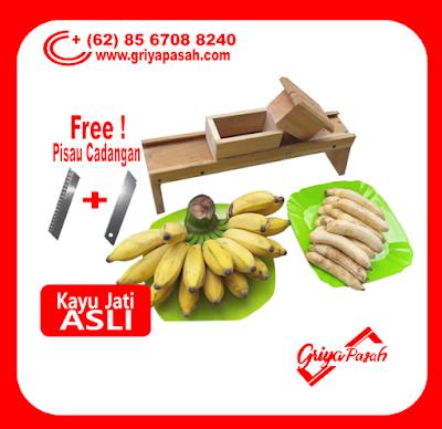 alat pemotong keripik pisang manual