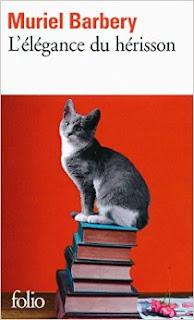 Otra de las portadas de la edición original de La elegancia del erizo (L'Élégance du hérisson) de Muriel Barbery [publicada por Folio]