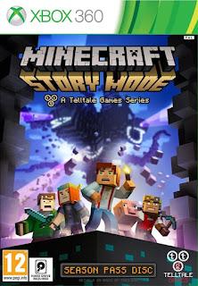 Minecraft Story Mode (X-BOX 360) 2015 LEGENDADO EM PT-BR!