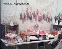 A la luna y vuelta mesa dulce; organización eventos DIY