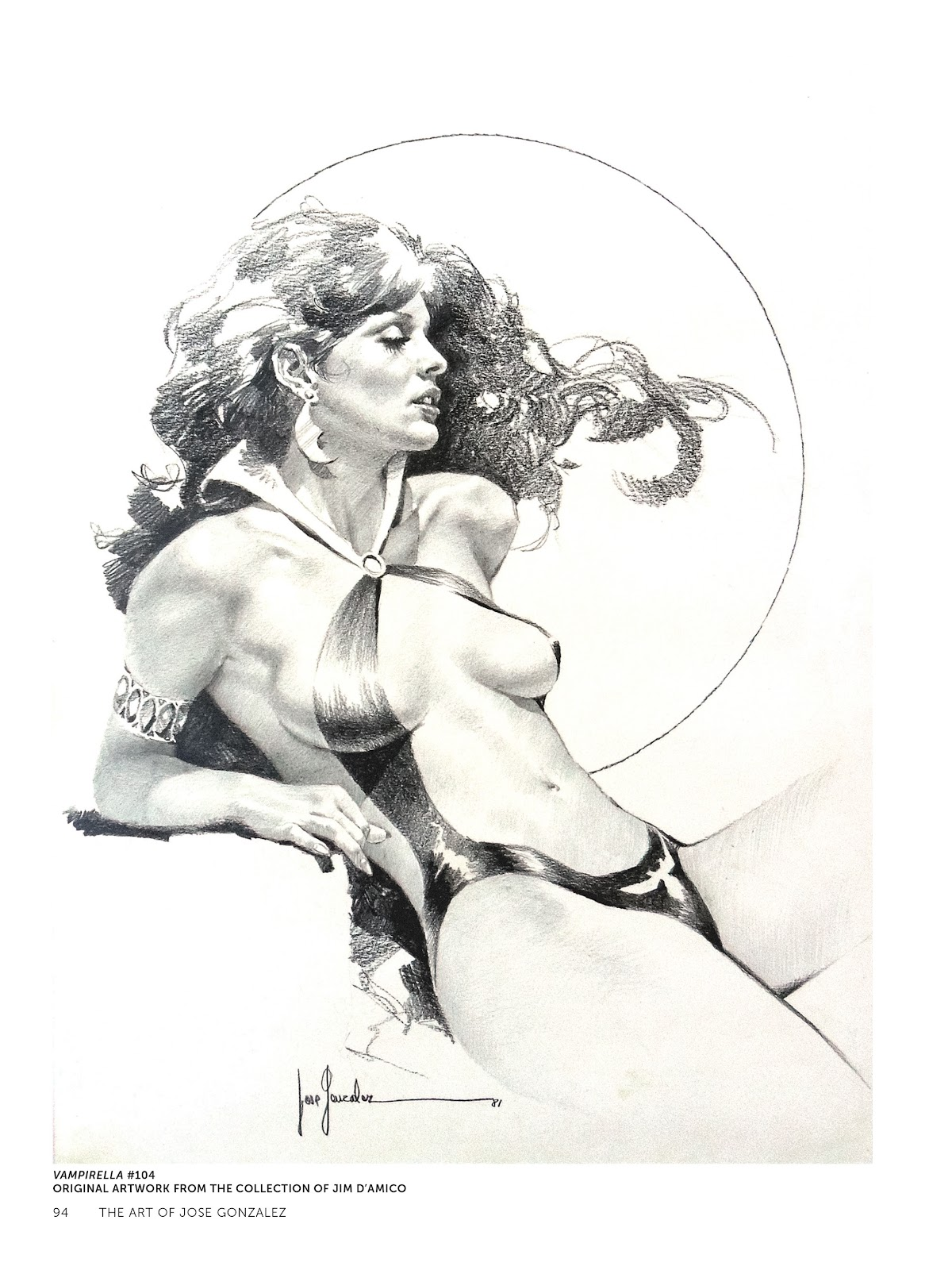 Read online The Art of Jose Gonzalez comic -  Issue # TPB (Part 1) - 95
