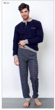 piżama_męska_Enrico_coveri_rzymskie_zakupy_bielizna_męska_włoska