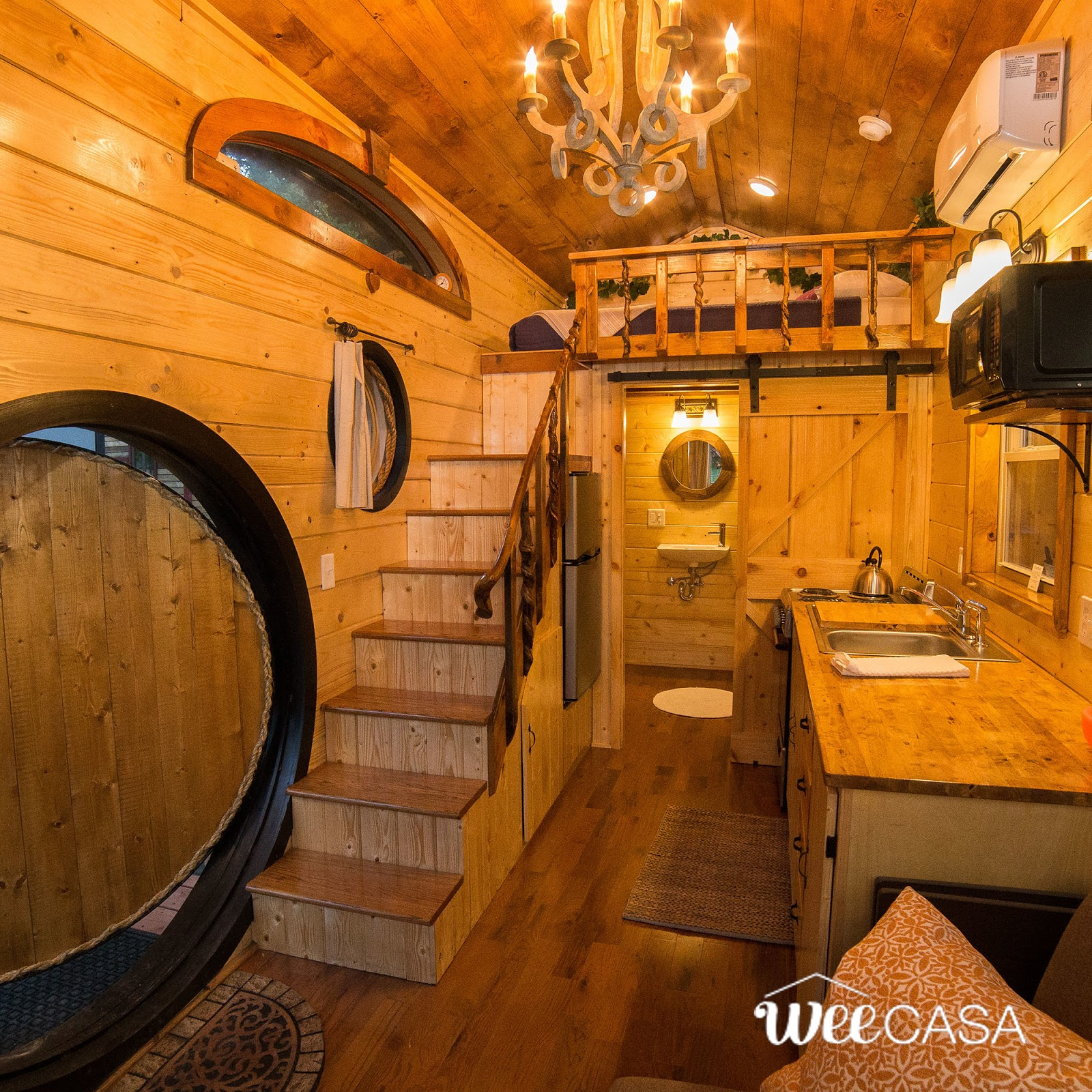 Tiny House Town The Hobbit House 170 Sq Ft