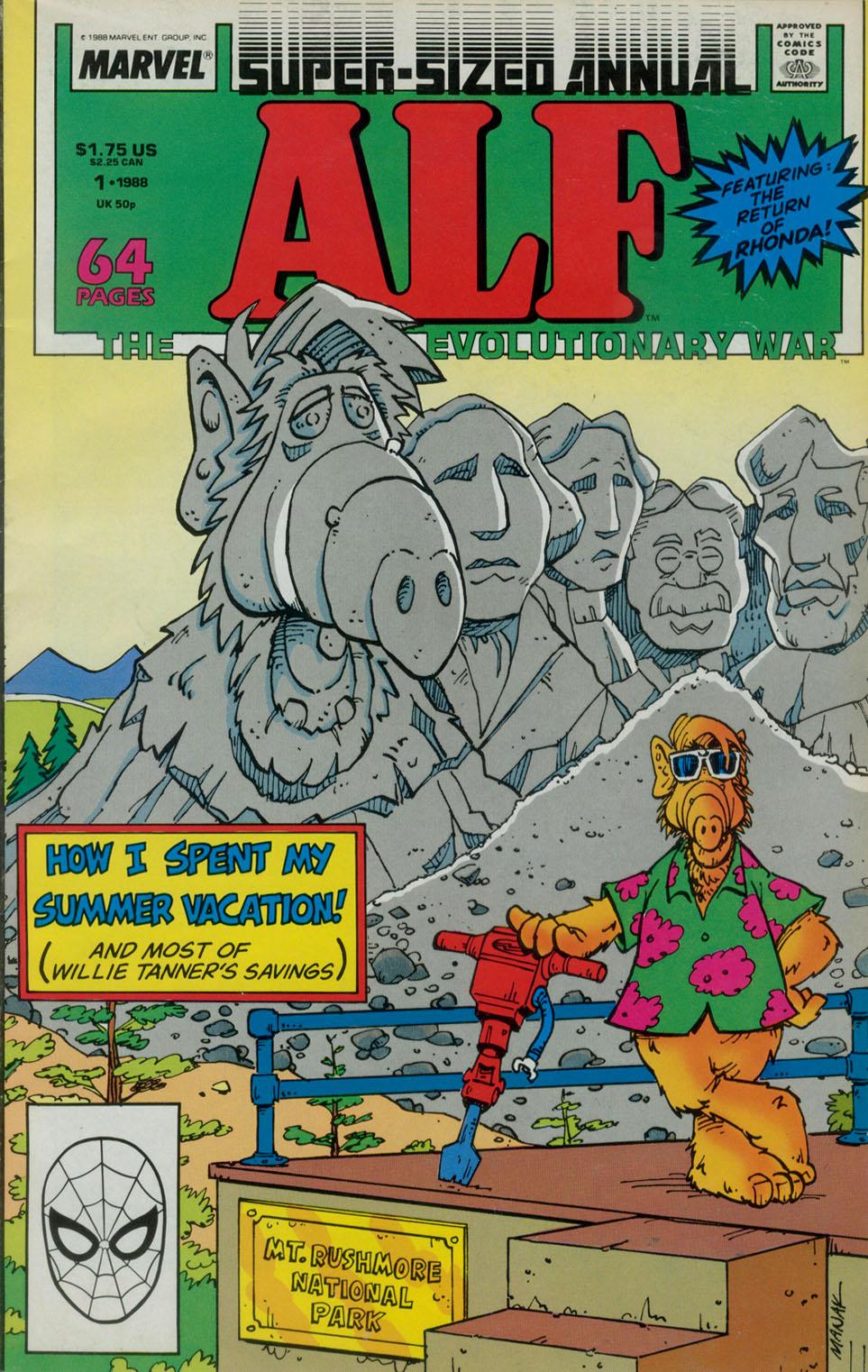 Read online ALF comic -  Issue # _Annual 1 - 1
