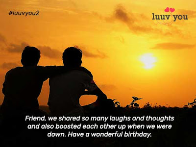 Birthday Friendship Wishes