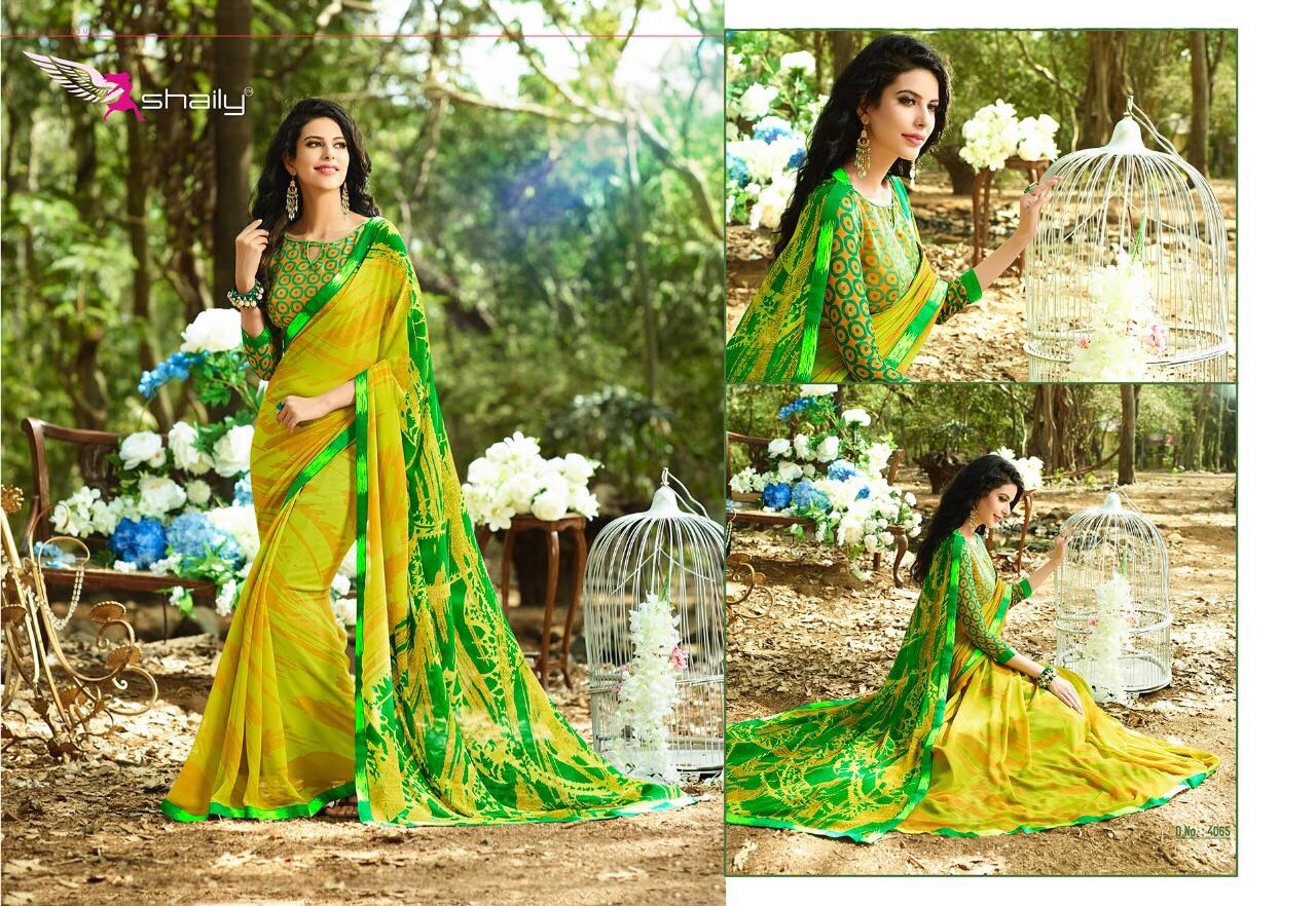 SANCHI-3 – New Arrival Designer Georgette Saree For women