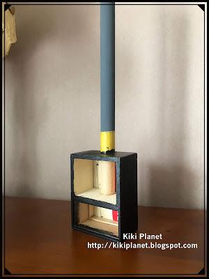 kiki monchhichi miniature poele à bois, cheminée handmade fait main