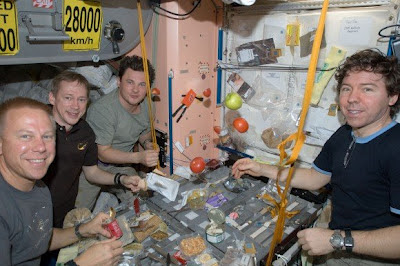 NASA Seeks Amateur Astronauts to Study Space Food