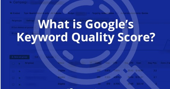 Are You Aware of Google's Keyword Quality Score?