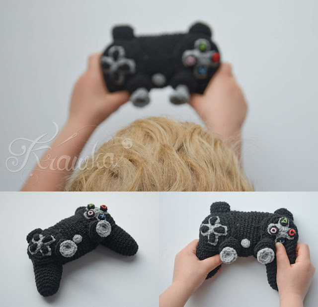 Krawka: Crochet ps4 game controller pattern by Krawka