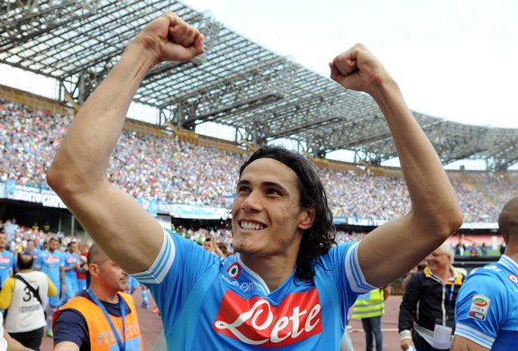 Napoli striker Edinson Cavani was top scorer in Serie A last term with 29 goals