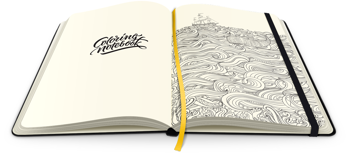 Bookfever Review The ColoringNotebook