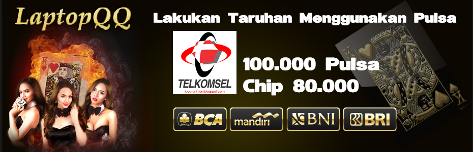 Deposit LaptopQQ Via Pulsa Telkomsel