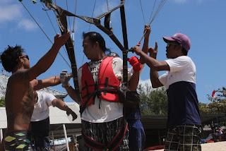 Parasailing murah Bali di Tanjung Benoa