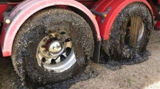 تسبب تغير المناخ في أستراليا للسيارات على الطريق