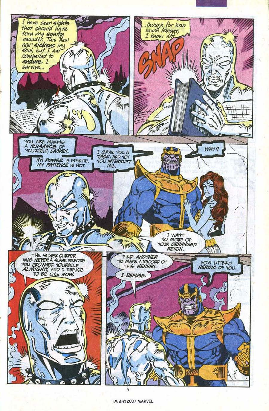 Read online Silver Surfer (1987) comic -  Issue #56 - 11