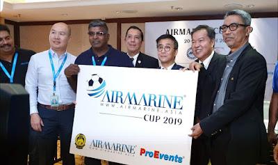 Jadual Piala AIRMARINE 2019 (Keputusan)