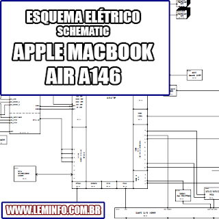 Esquema Elétrico Notebook Laptop Notebook Apple Macbook Air A1466 - 820-3209-A Manual de Serviço  Service Manual schematic Diagram Notebook Laptop Apple Macbook Air A1466 - 820-3209-A    Esquematico Notebook Laptop Apple Macbook Air A1466 - 820-3209-A