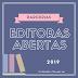 Editoras com Parcerias Abertas 2019 [ATUALIZADO DIA 03/02]