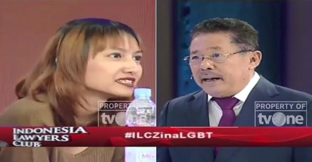 Banyak Netizen Berterima Kasih pada #ILCZinaLGBT dan Karni Ilyas, Ini Alasannya